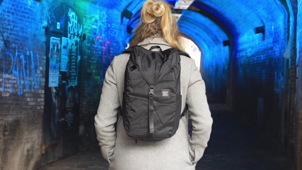 Herschel Trail Barlow premium backpack - YouTube 3ca6519bb677d