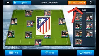 HACK ALL ATLETICO MADRIOD PLAYERS 2018 ALL 100%   DREAM LEAGUE SOCCER 2018