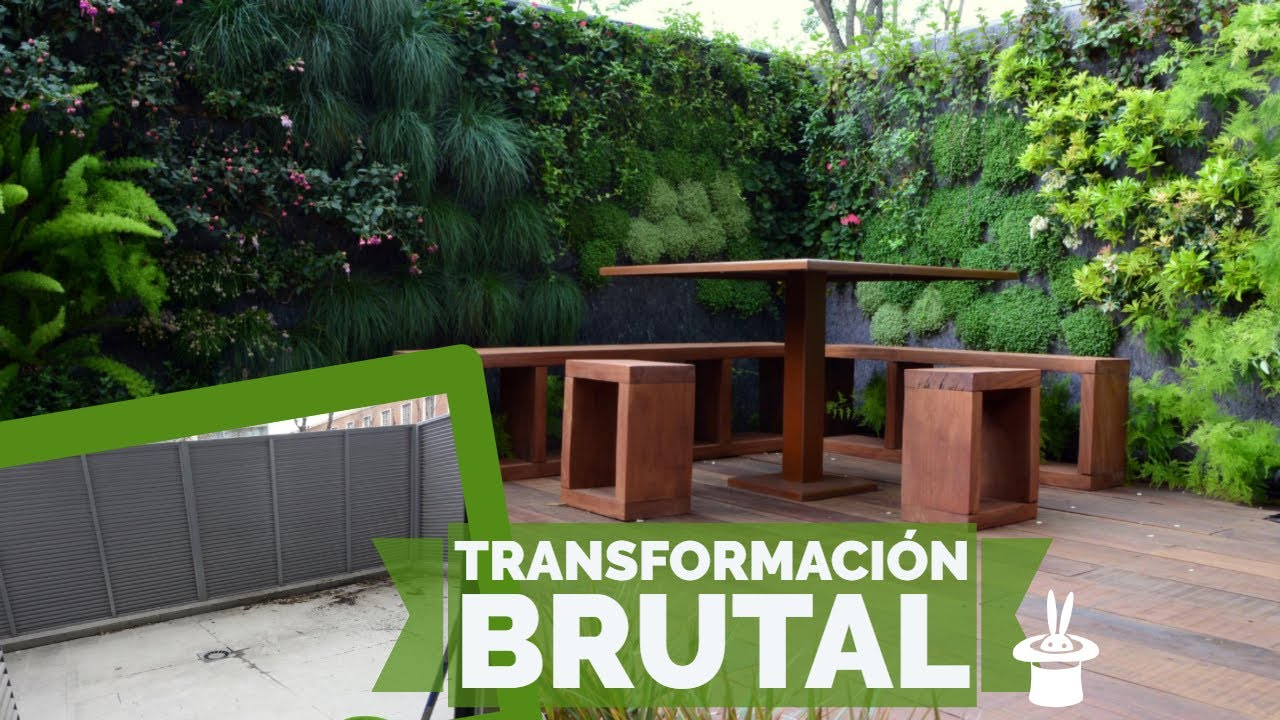 Un jardin a tu medida terraza youtube for Un jardin con enanitos