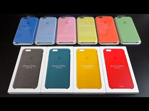 Apple iPhone Cases: New Colors (Spring 2016)