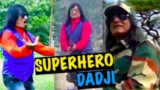 Video Dadaji of All Superheros - Mr. Rajkumar Thakuria | The Most Talented Person on the Planet download MP3, 3GP, MP4, WEBM, AVI, FLV November 2018