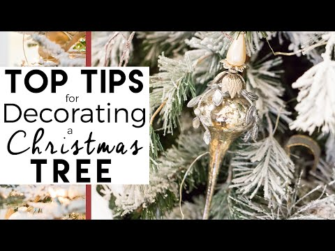 christmas tree how to decorate and christmas decorating ideas youtube