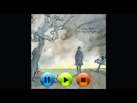 James Blake - The Colour in Anything HD High quality audio Lyrics on screen
