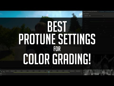 Best Protune Settings For Color Grading - GoPro Tutorial