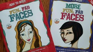 How to Draw MORE Fun Fab Faces ~ Official Book Flip Through