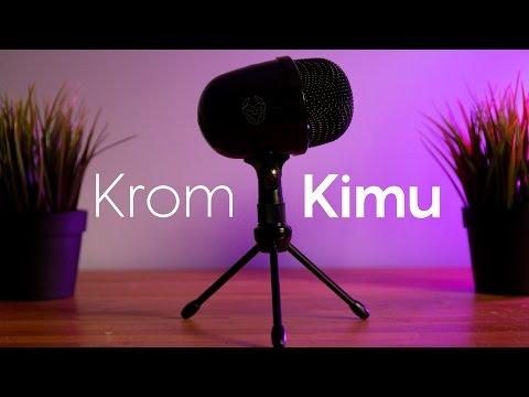 El mejor MICROFONO calidad-precio BARATO   Krom kimu