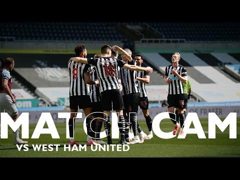 MATCH CAM 🎥 Newcastle United 3 West Ham 2 | Premier League Highlights