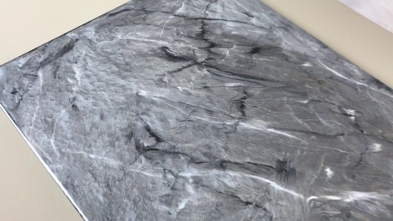 Metallic Epoxy Silver Black White