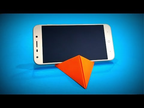 Origami Phone Stand | How to Make a Paper Phone Stand DIY | Easy Origami ART | Paper Crafts