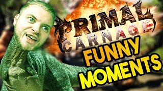 SquiddyPlays - PRIMAL CARNAGE: EXTINCTION! Funny Moments