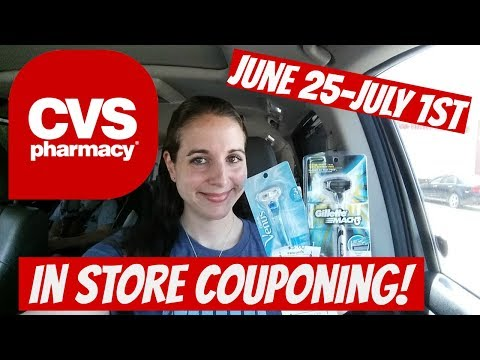 CVS IN STORE COUPONING 6/25/17-7/1/17! FREE COLGATE/CHEAP RAZORS/CLAIROL & MORE!
