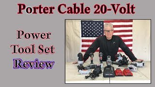 Porter Cable 20-Volt Rechargeable Power Tool Review