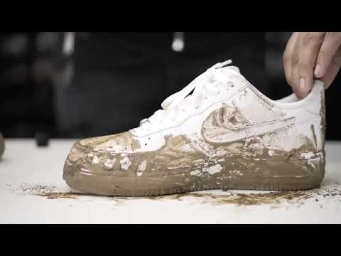 How To Clean Nike Air Force 1 White - Crep Protect Cure