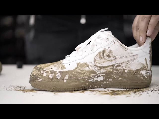 How To Clean Nike Air Force 1 White