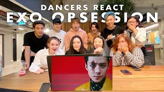Gambar cover Cypher Dance Crew Reacts to EXO (엑소) - OBSESSION MV | Australia