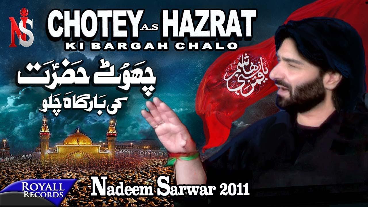 Nadeem Sarwar | Chotey Hazrat | 2011