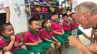 Bé học tiếng anh qua một số loài vật -Trường mầm non Hoa Sen,Ninh Thuận