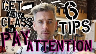 6 Ways to Get Your Class To Pay Attention | High School Teacher Vlog
