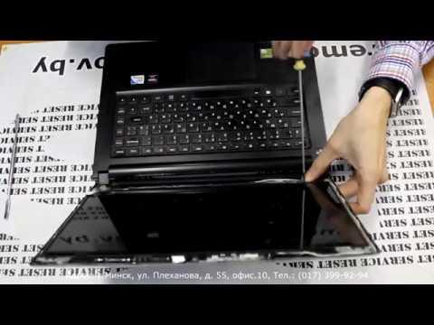 Lenovo IdeaPad - замена матрицы ноутбука