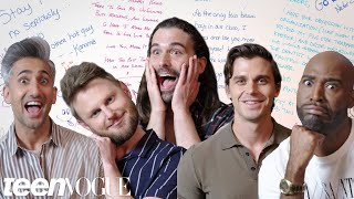 The Queer Eye Fab 5 Designs Their Own High School Yearbook | Teen Vogue