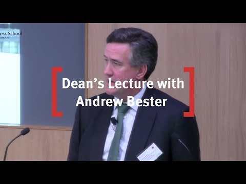 Cass Dean's Lecture Series - Andrew Bester, Lloyds Banking Group Wednesday, 9 March 2016