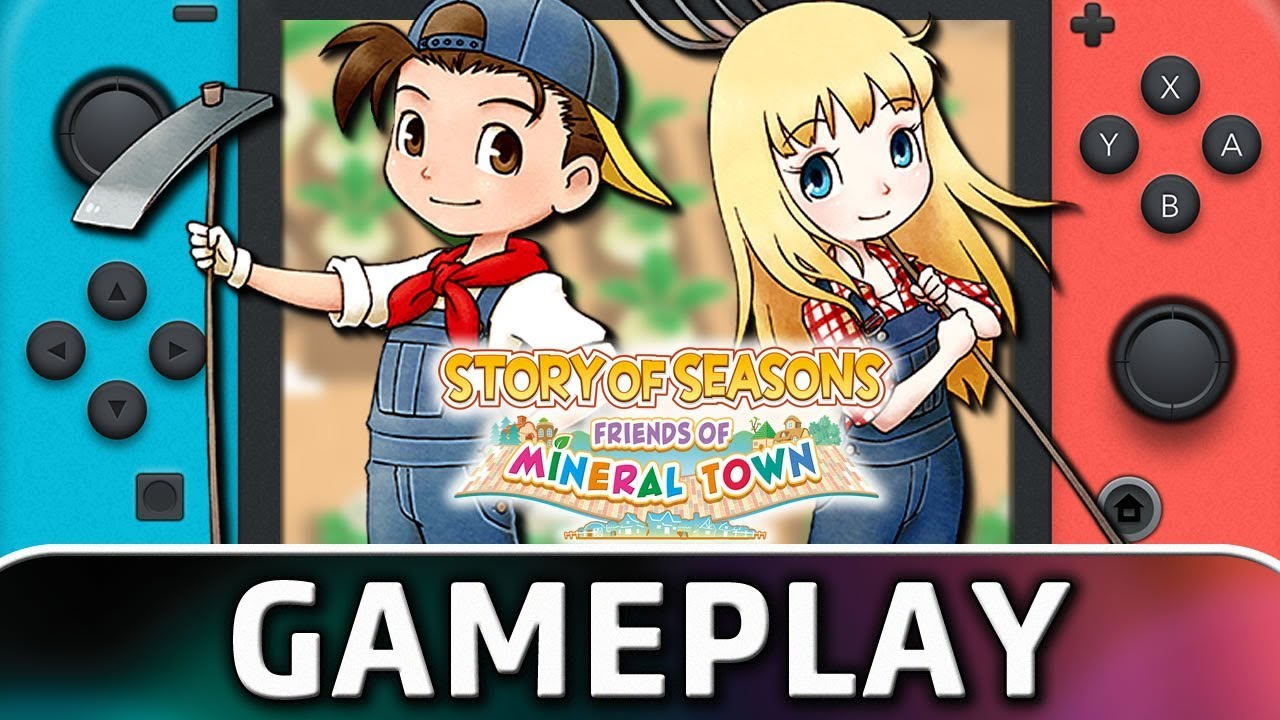 Story of Seasons: Friends of Mineral Town | First 40 Minutes on Nintendo Switch