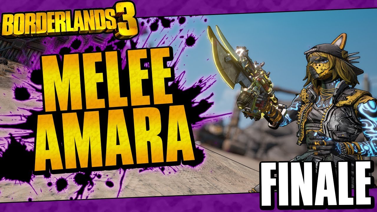 Borderlands 3 | Melee Only Amara Funny Moments And Drops | Finale thumbnail