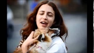 Emma D'sylva With Pet Fox, Todd
