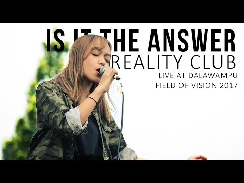 #Minilive Reality Club - Is It The Answer live at Dalawampu FOV 2017