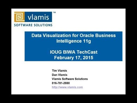 BIWA Techcast: Data Visualization for Oracle Business Intelligence 11g