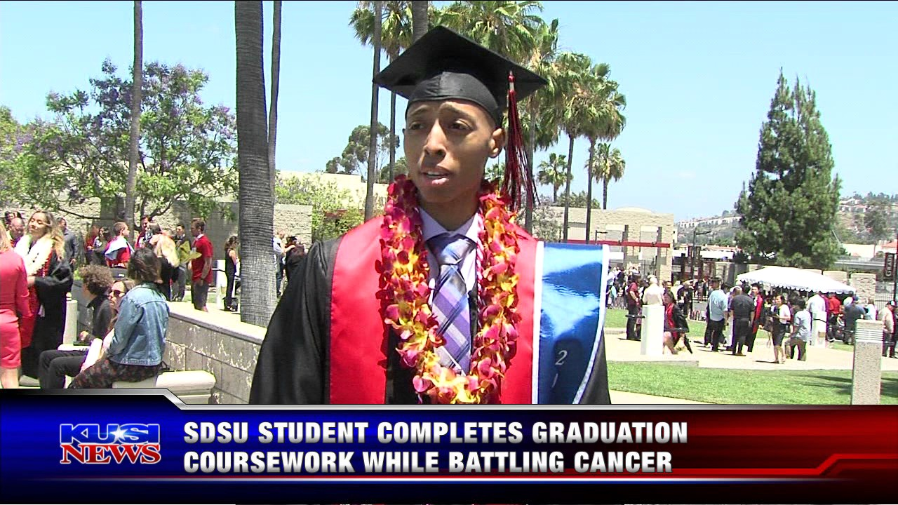 Sdsu Graduation Dates 2020.Sdsu Student Completes Graduation Coursework While Battling Cancer