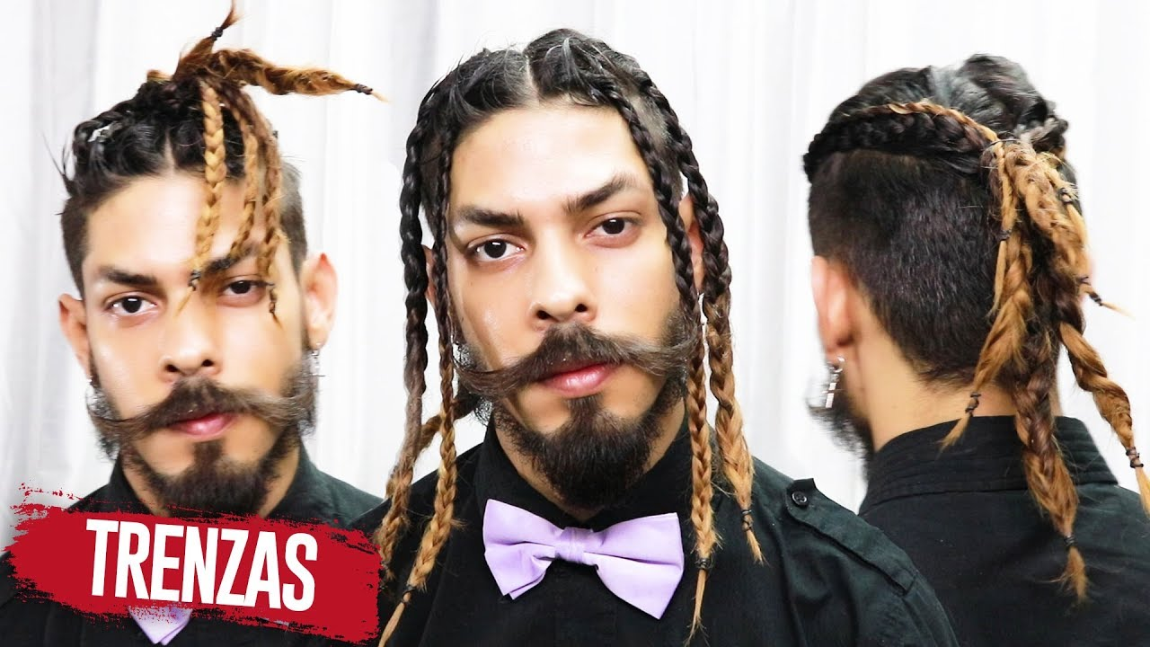 Braided Hairstyles For Men 2018 Long Hair Braids Undercut Youtube