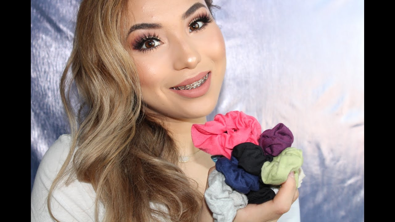 easy hairstyles with scrunchies