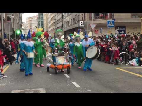 Desfile do Entroido de Pontevedra