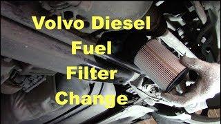 Volvo XC70 D4 Diesel fuel filter change. - YouTube | Volvo S70 Fuel Filter Location |  | YouTube