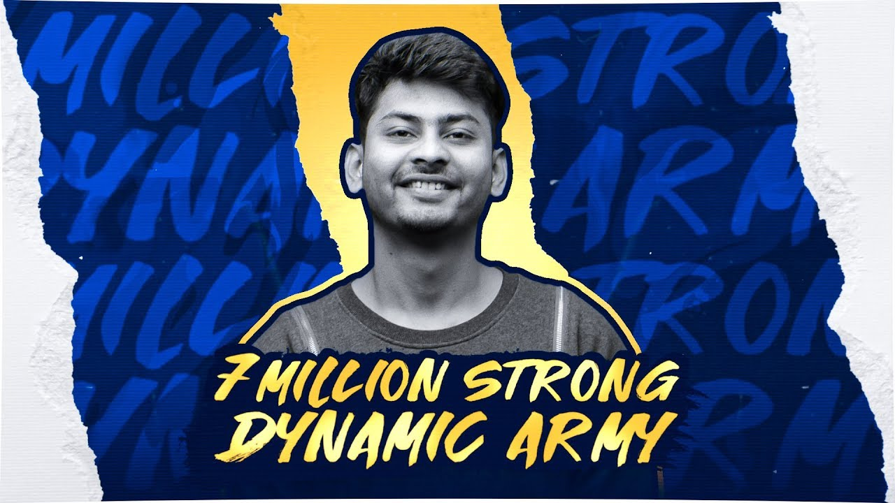 PUBG MOBILE LIVE WITH DYNAMO GAMING | 7 MILLION STRONG DYNAMIC ARMY?