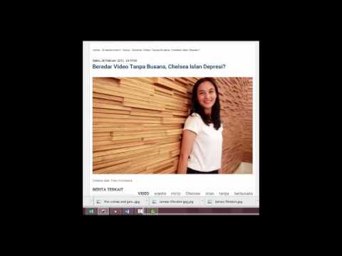 Beredar Video Tanpa Busana Chelsea Islan Depresi