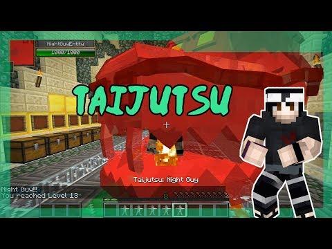 How to use Taijutsu! | NARUTO ANIME MOD | Minecraft | DATABOOKS Episode 17