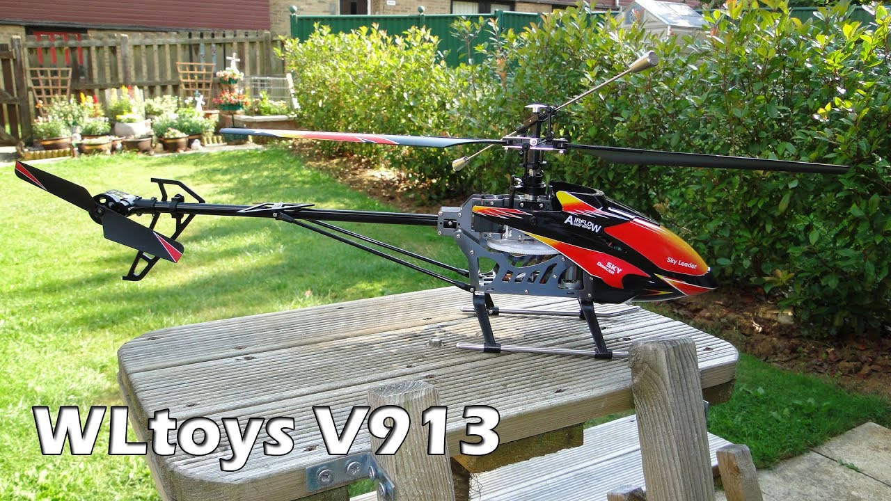 Wltoys V913 4 Channel R C Helicopter Youtube Blade 450 3d Rc Parts Diagram Free Engine Image For