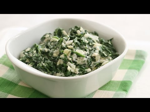 Easy Creamed Spinach - Everyday Food With Sarah Carey