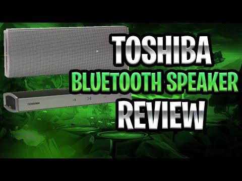 Toshiba Bluetooth Speaker Review!