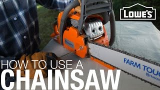 How To Use and Maintain A Chainsaw