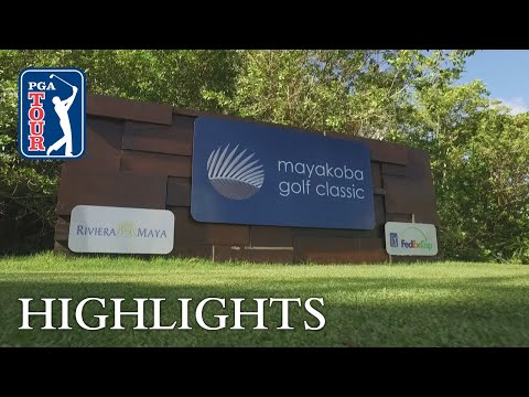 Highlights | Round 1 | Mayakoba 2018