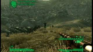 Fallout 3 - Combat Gameplay - Mysterious Stranger