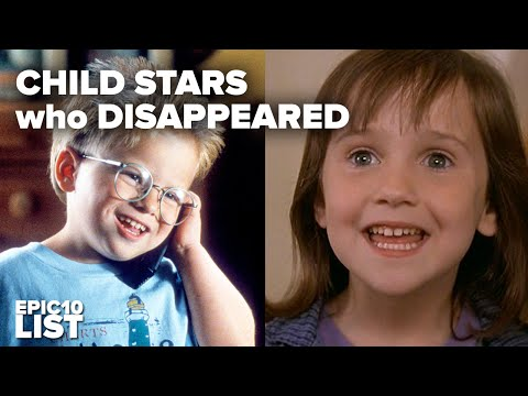 10 CHILD STARS Who Disappeared From the ACTING WORLD