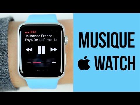 Apple Watch : Le fonctionnement de la musique