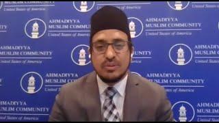 """A Time of National Healing Through Prayer"".  Address by Amjad Mahmood Khan."