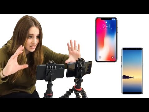 Download Youtube: iPhone X vs Samsung Note 8 ✨ VIDEO TEST ✨