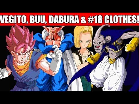 Dragon Ball Xenoverse - How to get Vegito, Dabura, Majin Buu & #18 Clothes for Custom Character!