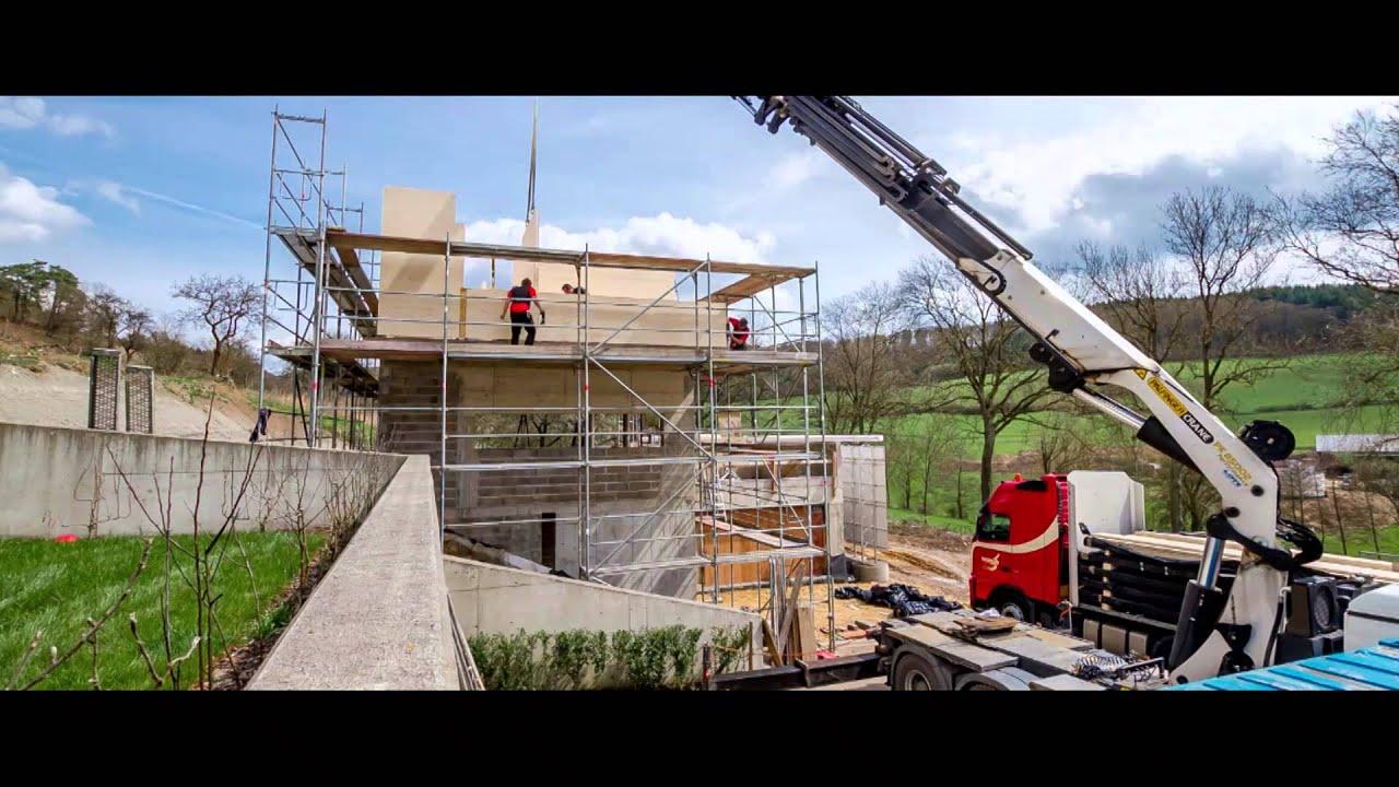 Massiv passiv construction d 39 une maison aaa en b ton et for Maison modulaire beton
